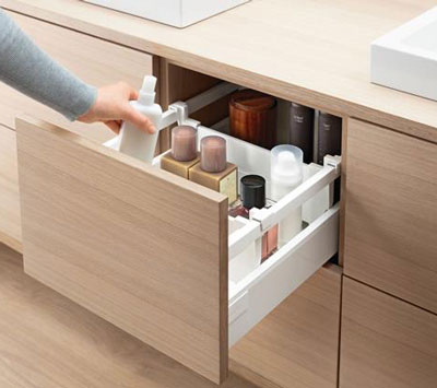 Espacios interiores ferreter a aldiaz s a s for Cajones de plastico para muebles de cocina